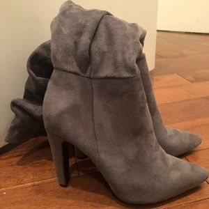 Shoes - Grey boot!